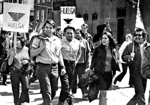 """We criticize and separate ourselves from the process. [Instead] we've got to jump right in there with both feet."" – Dolores Huerta, Chicago, 1971"